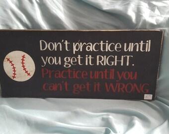 Sports and baseball sign!