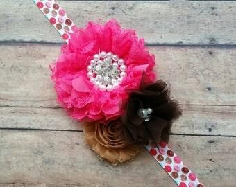 Donut headband - foodie headband - baby donut headband - girl headband - baby girl gift - girl doughnut headband - carnival headband