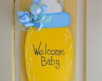 Baby Bottle Wall Art