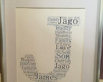 Letter word art