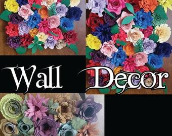 8x10 Wall Flower Decor