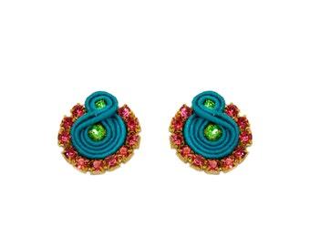 Earrings Soutache Grace S3