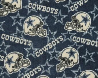 NFL Dallas Cowboys Fleece V2 Fabric by the yard