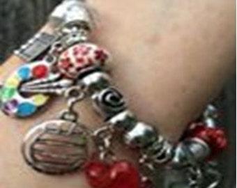 Pandora Style Charm Bracelet (Custom to Order)
