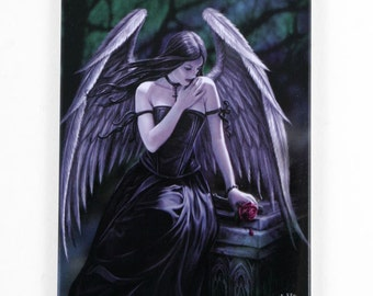 Anne Stokes Lost Soul Fridge Magnet