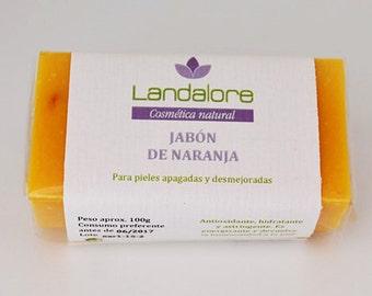 Ecological Orange Soap