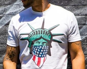 Statue of Liberty USA bandana