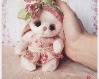 SOLD Bunny teddy Mila