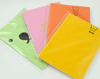 Small Candy Coloured Notebooks