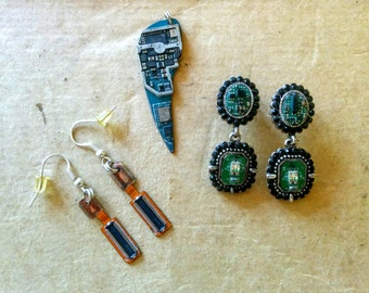 Exquisite Printed Circuit Board (PCB) Jewellery