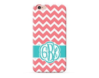 Chevron pattern iPhone 6 Case monogrammed iPhone 6s Case iPhone 6s Plus Case monogram iPhone 7 plus 7 Pro case personalised iPhone SE 5 Case