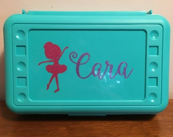 Personalized Pencil/Crayon Box