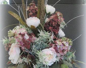 Lg Purple Floral Arrangement