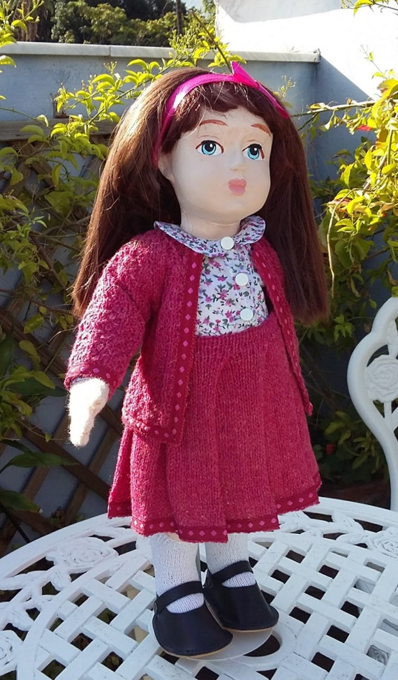 Pink suit for 18 inch dolls