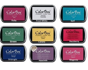 Ink Stamp Pads  Colorbox pigment ink