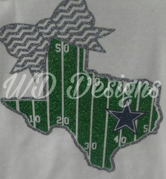 Dallas Cowboy playing field onesie!