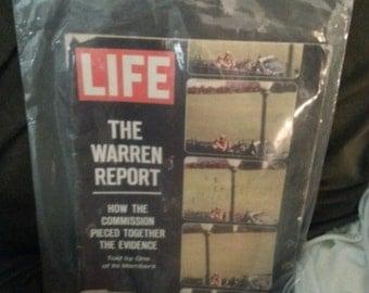 Life Magazine The Warren Report 1964