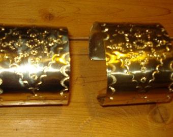 Brass 2X6 Cuffs hand stamped