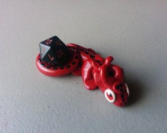 Dice dragon (red)