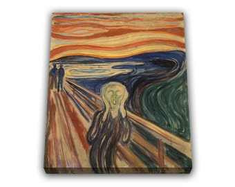 The Scream Edvard Munch Painting Reproduction popular paint work the scream Edvard Munch wall art canvas popular art home decor office decor