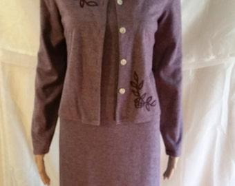 elegant maxi dress and jacket