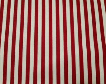 Holiday Red and White Stripe