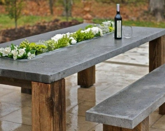 Items Similar To Custom Indoor Amp Outdoor Concrete Tables