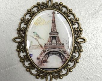 Paris Vintage pendant