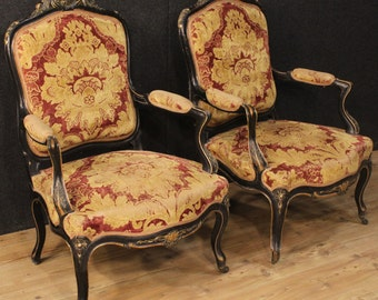 Pair of French armchairs from the early 20th century