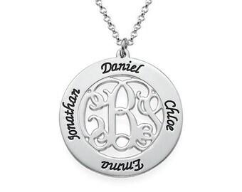 Monogram Family Necklace