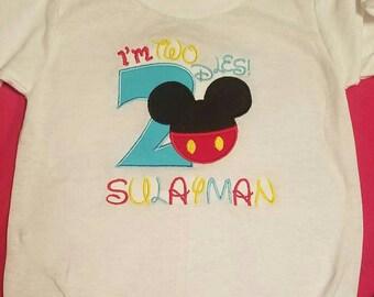 Im Twodles Custom Birthday Shirt