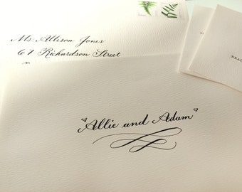 Custom Calligraphy Envelope Addresses