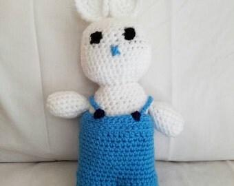 Crochet Bunny (Kevin)