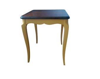 Beautiful Yellow Accent table