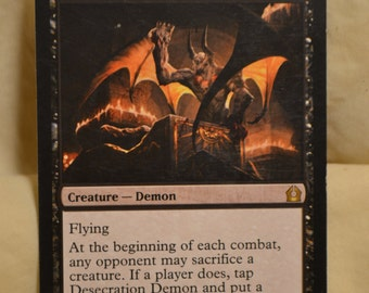 Desecration Demon, MTG, Near Mint Card