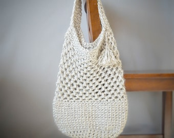 Manhattan Market Tote Crochet Pattern