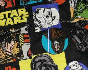 Star Wars baby quilt