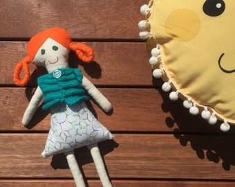 Myra- Handmade Clothdoll