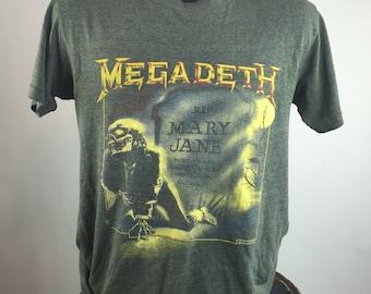 Vintage 1988 Megadeth Concert Tour shirt