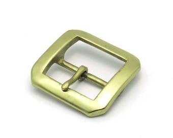 Solid Brass Belt Buckle (38 mm.)