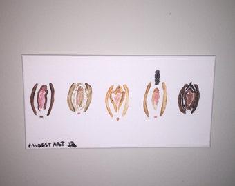 Custom Vagina Painting