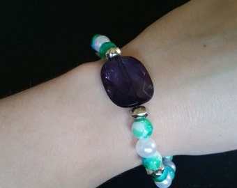 Blue Jewel Bracelet