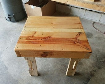 Pallet End Table- Small