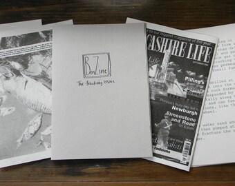 Zine, on fracking, environment, politics, climate change, self publishing