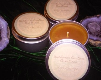 Nag Champa 6 oz tin candle