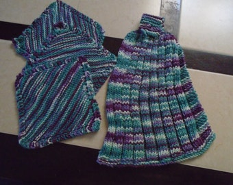 Knitted Kitchen Towel Set