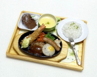 Free Shipping! Miniature Mix Grilled Meal