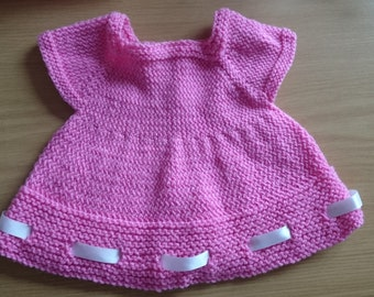 Little Miss Dress and Diaper cover set