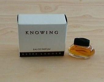 Knowing Estee Lauder, 3.5ml EDP mini, miniature perfume