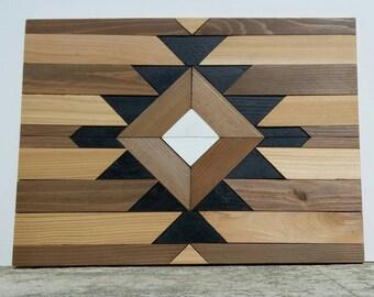 Tribal Geometric Wall Art